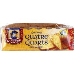 Véritable quatre-quarts, pur beurre