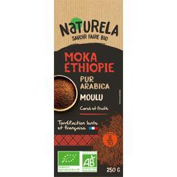 Café moulu Moka Ethiopie pur arabica BIO