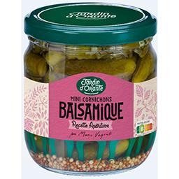 Mini cornichons au condiment balsamique