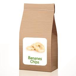 Bananes chips en VRAC