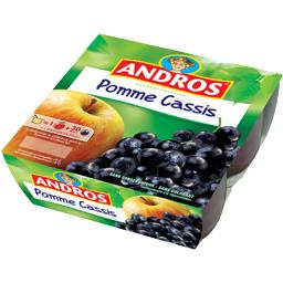 Andros Andros Dessert Fruitier - Dessert pomme cassis