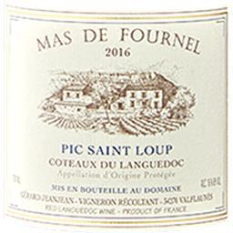 Languedoc-Pic Saint Loup Mas Fournel vin Rouge 2016