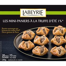 Labeyrie Mini paniers à la truffe d'été 1%