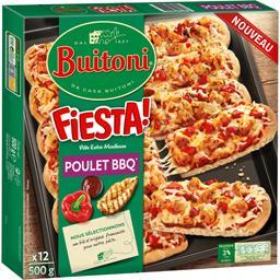 Fiesta ! - Pizza poulet BBQ