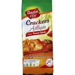 Crackers allégés saveur tomate épicée