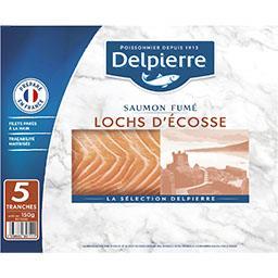 Delpierre Saumon fumé Ecosse