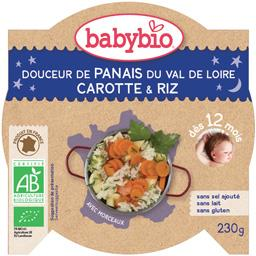 Douceur de panais carotte des Landes, Polenta BIO dès 12 mois