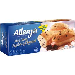 Sans Gluten & Lactose - Mini cakes pépites de chocol...