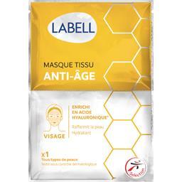 Masque tissu anti-âge enrichi en acide hyaluronique