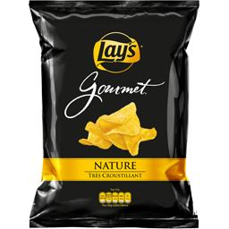 Lay's Chips Gourmet nature le paquet de 45 g