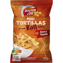 Mini tortillas Roll saveur tomate