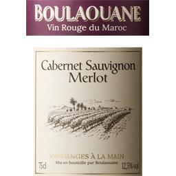 Boulaouane Cabernet Sauvignon Merlot, vin rouge