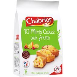 Chabrior Minis Cakes aux fruits le sachet de 300 g