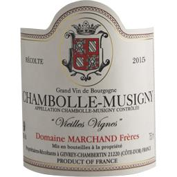 Chambolle-Musigny vin rouge, 2015