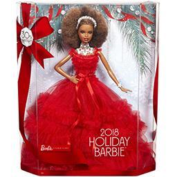 Poupée Noël 30éme anniversaire 2 afro américaine