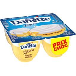 Danone Danone Danette - Crème dessert Le Liégeois vanille
