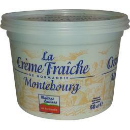 Crème fraiche épaisse montebourg 30% de matière grasse