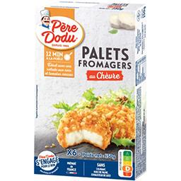 Palets fromagers chèvre