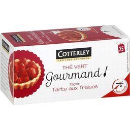 Thé vert Gourmand façon tarte aux fraises