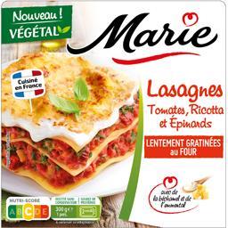Lasagnes tomates ricotta et épinards