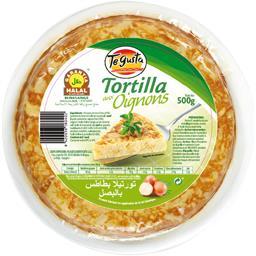 Tortilla pommes de terre oignons halal