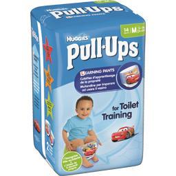 Culotte d'apprentissage Pull-Ups garçon, taille M : ...