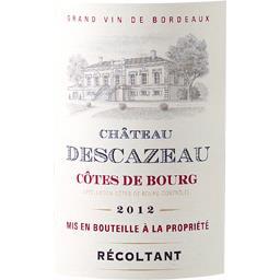 Côtes de Bourg, vin rouge