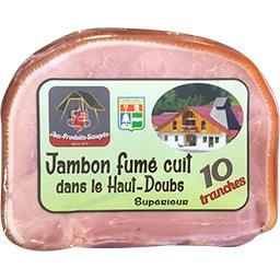 Jambon fumé cuit dans le Haut-Doubs