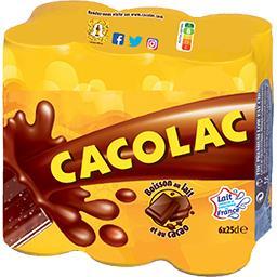 Boisson lactée au cacao