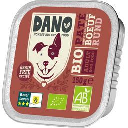 Pâtée au bœuf BIO pour chien