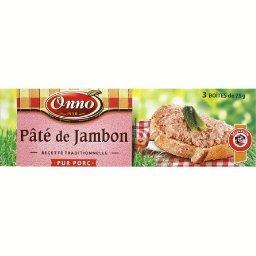 Pâté de jambon pur porc