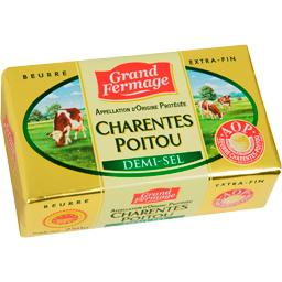 Beurre Charentes Poitou demi-sel
