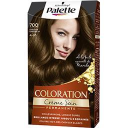 Coloration crème soin châtain chocolat 700