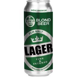 Bière blonde Lager pur malt