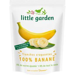 Tranches craquantes 100% banane