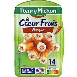 Fleury Michon Le Cœur Frais basque au piment d'Espelette