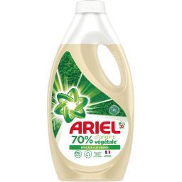 Lessive liquide d'origine végétale