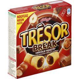 Trésor - Barres de céréales Break goût chocolat nois...