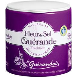 Fleur de sel de Guérande récoltée à la main