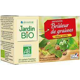 Jardin Bio Infusion BIO Brûleur de Graisses saveur vanille