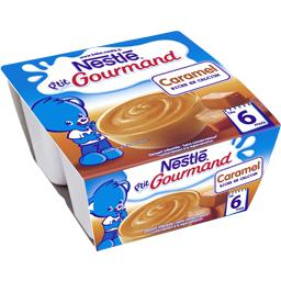P'tit Gourmand - Dessert caramel, 6+ mois