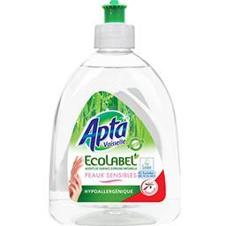 Liquide vaisselle Ecolabel peaux sensibles