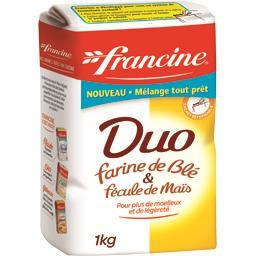 Farine Duo blé & fécule de maïs