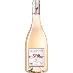 Pink Flamingo Vin de pays Sable de Camargue, vin rosé la bouteille de 75 cl