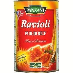 Ravioli pur bœuf sauce italienne