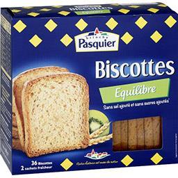 La Biscotte Equilibre sans sel et sans sucres ajouté...