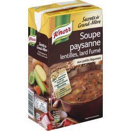 Secrets de Grand-Mère - Soupe paysanne lentilles, la...