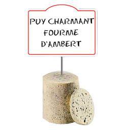 Puy Charmant Fourme d'Ambert au lait cru 31% de MG