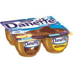 Danette - Crème dessert au chocolat aromatisée saveur banane