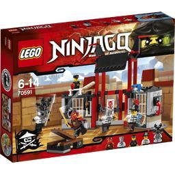 Ninjago - L'évasion de la prison de Kryptarium